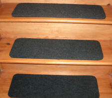 9 Step  9'' x 27'' Outdoor/Indoor  Stair Treads Non-Slip Staircase 100% Rubber .