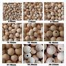 Naturholz Perlen * unbehandelt * BPA frei * roh * Größen von 5mm-22mm * MiPerla