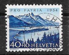 SCHWEIZ/ Pro Patria 1954 MiNr 601 o