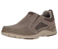 Rockport Kingston Men's Slip On Nubuck Leather Shoes BX2084