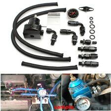 UniversaL Adjustable Fuel Pressure Regulator 100psi Oil Gauge AN 6 Fitting Kit