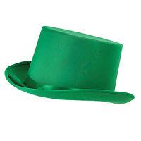 Ladies Green Top Hat Victorian Edwardian Dickensian Fancy Dress Costume Prop