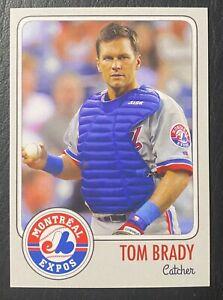 1995 MLB Draft Tom Brady Rookie Custom Card - Mint