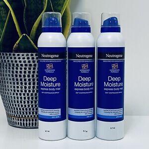 (3) Neutrogena Deep Moisture Express Body Mist, 6.7 oz
