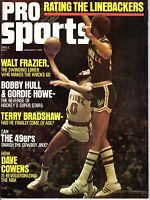 1974 (Jan.) Pro Sports Basketball magazine, Kareem Abdul-Jabbar, Walt Frazier~Gd