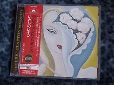 "DEREK AND THE DOMINOS ""LAYLA"" JAPAN CD 1970 THE ERIC CLAPTON REMASTERS RHTF"