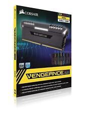 NEW Corsair Vengeance RGB 32GB 2x16GB DDR4 3000MHz C15 Desktop Memory RAM Black