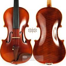 Master Antique Stradivari Style Left Hand Violin 4/4 Rich Tone 1 Piece Maple