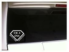 "CNA Superpower Car Decal Vinyl Sticker 6"" *F92 Nurse Hospital Love Scrubs Gift"