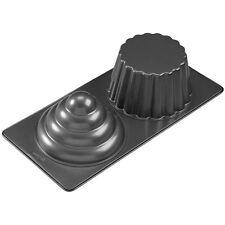 3D Giant Cupcake Pan Baking Mold Party Cake Cast Aluminum Non Stick Heavy Cavity