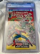AMAZING SPIDERMAN #141 CGC 7.5 White Pages First Danny Berkhart as Mysterio !!