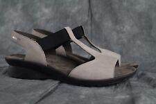 NEW Mephisto Petrea Pull-On Light Gray Nubuck Sandal EU Size 40 ANB