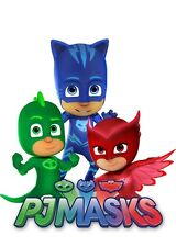 PJ Masks # 10 - 8 x 10 - T Shirt Iron On Transfer