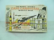Marx Atomic Cape Canaveral Missile Base Playset w/Original Box