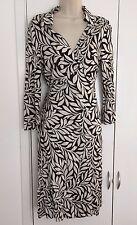 Coût > £ 399 Diane von Furstenberg Soie UK14 (pour UK12-14)