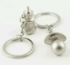 new mom baby shower gift set of 2 dummy pacifier bottle stainless x2