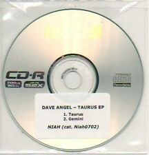 (109L) Dave Angel, Taurus / Gemini - DJ CD
