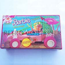 VINTAGE BARBIE MATTEL - Dune Buggy Strandbuggy Car - Auto Tropical 1986 MOC NEW