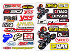 Rc Car Body Shell 2pcs Stickers Decal Sheet Ideal for Tamiya Lunchbox