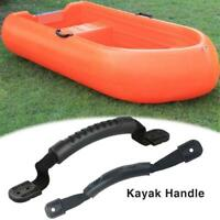 2x Rubber Boat Luggage Side Mount Carry Handles Fitting For Kayak Canoe Boat