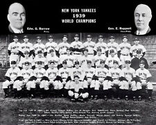 1939 New York Yankees Team Photo #2 - World Champions