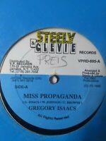 "Gregory Isaacs-Miss Propaganda 12"" Vinyl Single 1990"