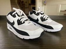 Nike Air Max 90 Ultra 2.0 Essential 875695-100 Mens Sz 8.5 White/Black/White