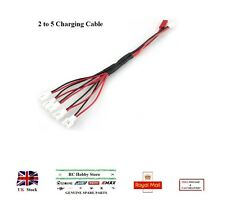Lipo Battery 2 to 5 Charging Cable Lead 2Pin Adapter For Hubsan Walkera Ladybird
