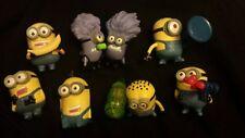 Set Of 8 Mcdonalds Despicable Me 2013 Minions