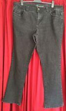 Evans Cotton Plus Size Straight Leg Jeans for Women