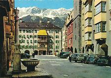 AK aus Innsbruck mit VW-Käfer, Oldtimer, alte Autos   (B11)