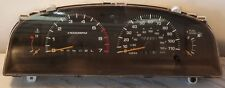 1998 Toyota 4Runner speedometer guage cluster 6cyl automatic transmission 324k .
