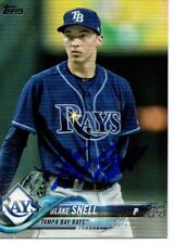 Blake Snell Tampa Bay Rays 2018 Topps Series 2 Signed Card