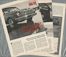 1965 RAMBLER AMERICAN Road Test article, Drivers Report, Rambler 440-H