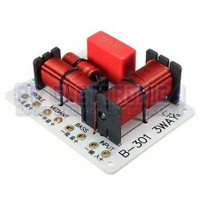 150W 1000-5000HZ Multi Speaker Audio Frequency Divider 3 Way Crossover Filters