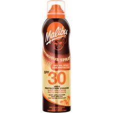 Malibu Non Grease Continuous DRY OIL Spray SPF30 HIGH Sun Protection 175ml