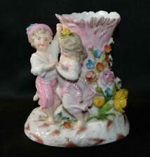 Berlin (Wegeley) Porcelain Floral Figurine Vase