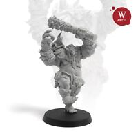 "28mm wargaming and collectible miniature, The Troll by Artel ""W"""