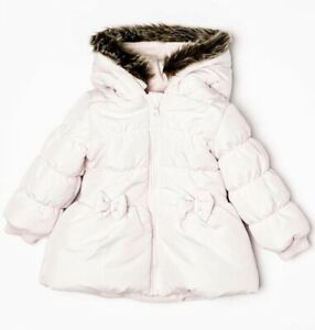 Minoti Girls Fur Coat Jacket 3-8 Years