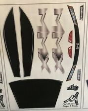Traxxas RC E-Revo 2.0 Unbreakable Body DECALS ONLY / Sticker sheet Revo Erevo
