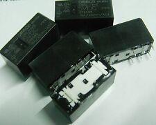 5 x Omron G2RL-1-E-DC5 5 volt coil high current 16A  low profile relay 5V  SPDT