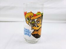 1981 The Great Muppet Caper Kermit, Fozzie and Gonzo Collectible McDonalds Glass