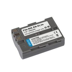 NEW Battery For Nikon EN-EL3e for D50 D70 D70s D80 D90 D100 D200 D300s D700