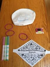 Exclusive American Girl  Tote & Pet Scarf Coloring Craft &  Cell Phone New !!