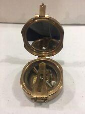 Maritime Nautical Brass Brunton Compass Nautical Direction Compass
