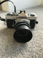 Olympus OM1 N 35mm SLR Film Camera * Zuiko MC Auto-S 50mm F1.8 lens * T20 flash*