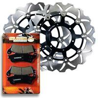 Honda Front High Performace Brake Disc Rotor + Pads VTX 1800 [2002-2011]