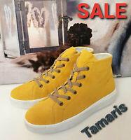 Tamaris Damen Sneaker Stiefel Schuhe new collection gelb sun 1-252332 NEU SALE