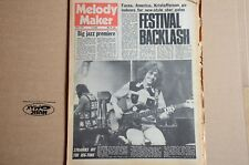 Melody Maker 8th April 1972 America Strawbs Richie Furay Lindisfarne Temptations