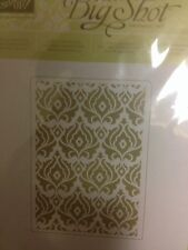 "Sizzix Big Shot BEAUTIFULLY BAROQUE Textured Impressions Embossing"" Stampin'UP!"